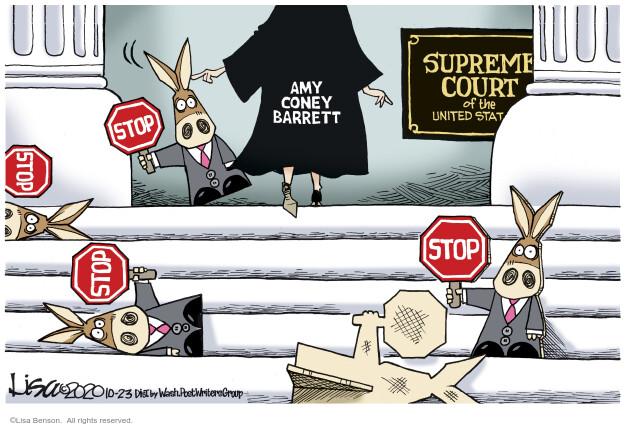 Lisa Benson  Lisa Benson's Editorial Cartoons 2020-10-23 supreme