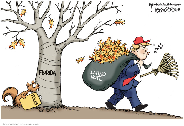 Lisa Benson  Lisa Benson's Editorial Cartoons 2020-11-05 voter