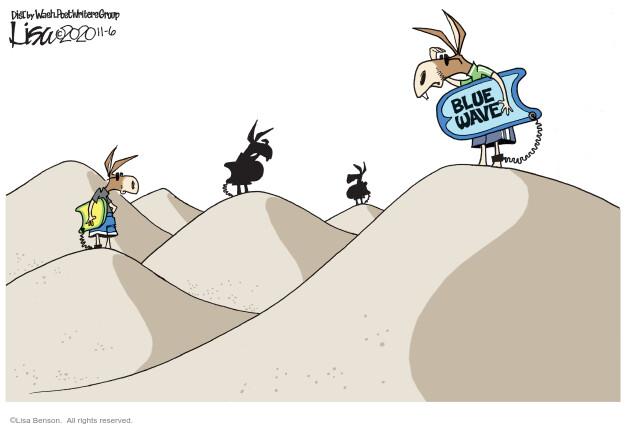 Lisa Benson  Lisa Benson's Editorial Cartoons 2020-11-06 campaign