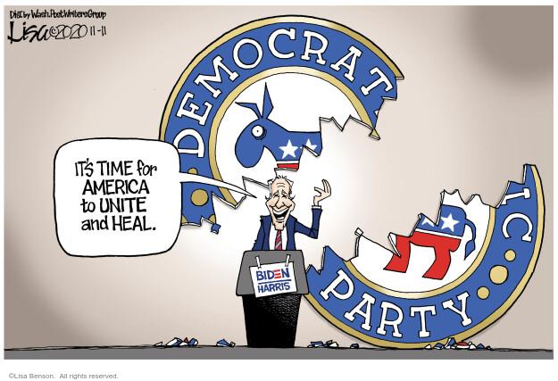 Lisa Benson  Lisa Benson's Editorial Cartoons 2020-11-11 election