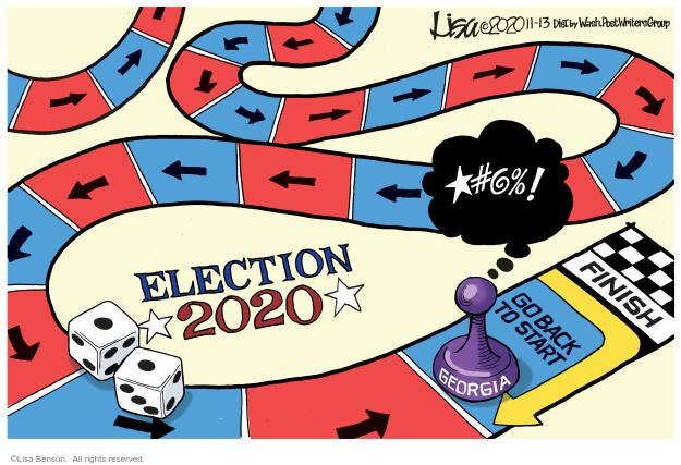 Lisa Benson  Lisa Benson's Editorial Cartoons 2020-11-13 campaign