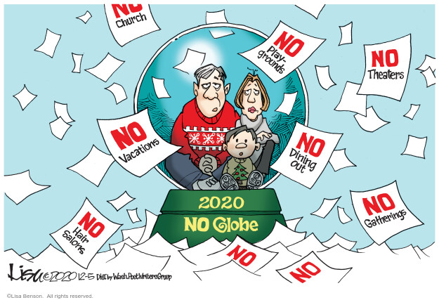 Lisa Benson  Lisa Benson's Editorial Cartoons 2020-12-05 public health