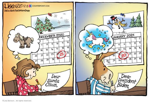 Lisa Benson  Lisa Benson's Editorial Cartoons 2020-12-08 election
