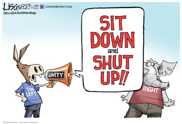 Lisa Benson  Lisa Benson's Editorial Cartoons 2021-01-22 editorial