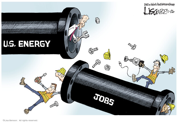 Lisa Benson  Lisa Benson's Editorial Cartoons 2021-01-26 energy