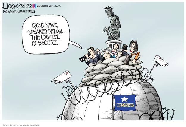 Lisa Benson  Lisa Benson's Editorial Cartoons 2021-02-02 attack