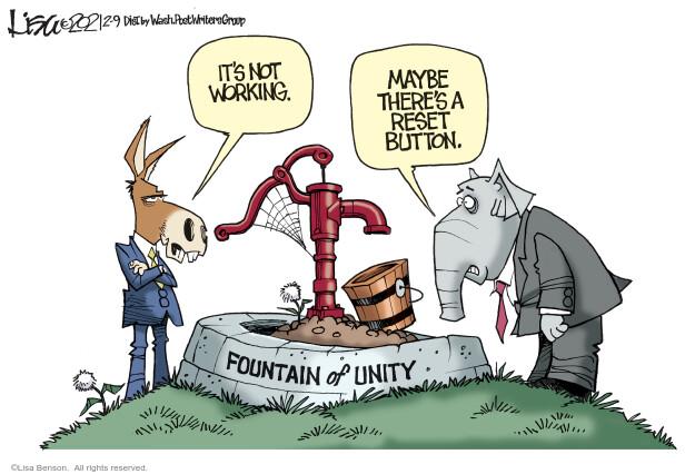 Lisa Benson  Lisa Benson's Editorial Cartoons 2021-02-09 bipartisan