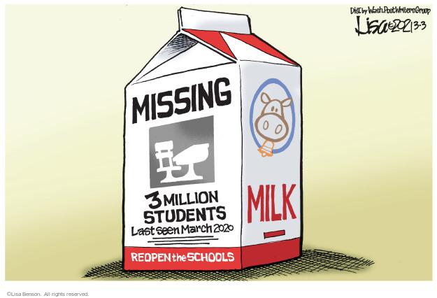 Lisa Benson  Lisa Benson's Editorial Cartoons 2021-03-03 editorial