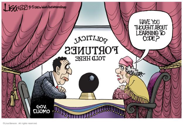 Lisa Benson  Lisa Benson's Editorial Cartoons 2021-03-05 fatality
