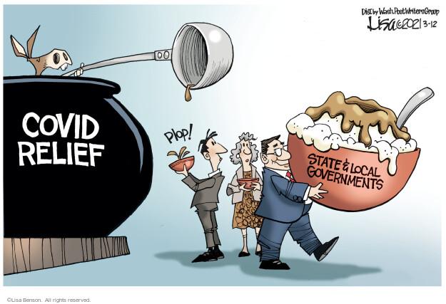 Lisa Benson  Lisa Benson's Editorial Cartoons 2021-03-12 state legislation