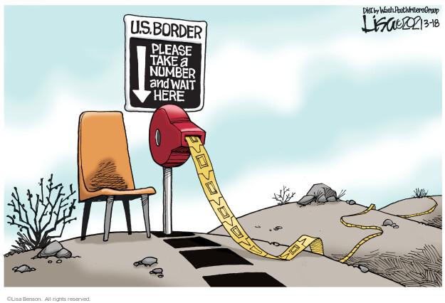 Lisa Benson  Lisa Benson's Editorial Cartoons 2021-03-18 editorial