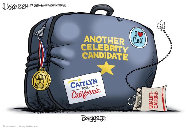 Lisa Benson  Lisa Benson's Editorial Cartoons 2021-04-27 state election