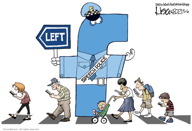 Lisa Benson  Lisa Benson's Editorial Cartoons 2021-05-06 Lisa Benson