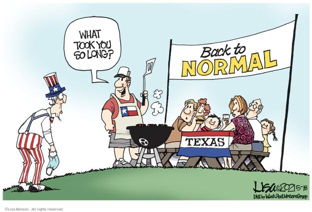 Lisa Benson  Lisa Benson's Editorial Cartoons 2021-05-18 Lisa Benson