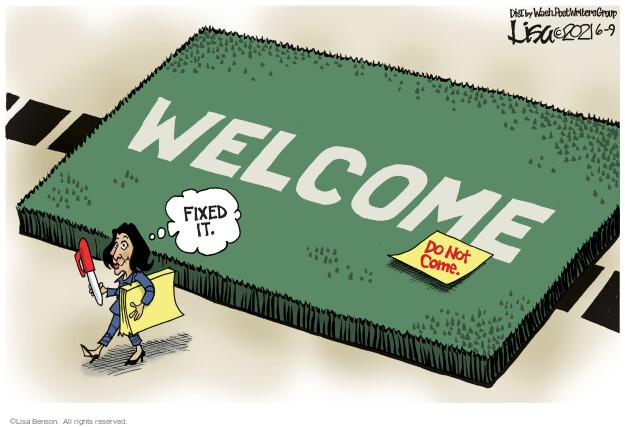 Lisa Benson  Lisa Benson's Editorial Cartoons 2021-06-09 state