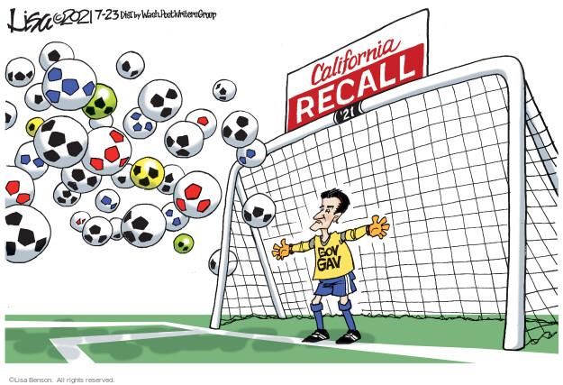 Lisa Benson  Lisa Benson's Editorial Cartoons 2021-07-23 state election