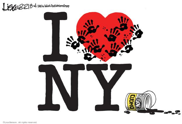 Lisa Benson  Lisa Benson's Editorial Cartoons 2021-08-04 state