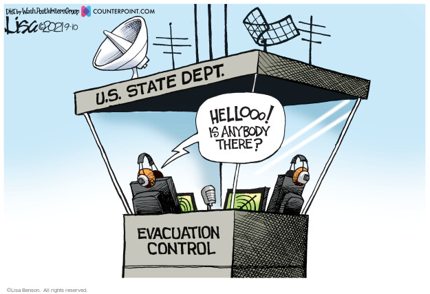 Lisa Benson  Lisa Benson's Editorial Cartoons 2021-09-10 state