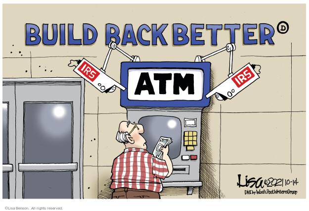 Lisa Benson  Lisa Benson's Editorial Cartoons 2021-10-14 politics