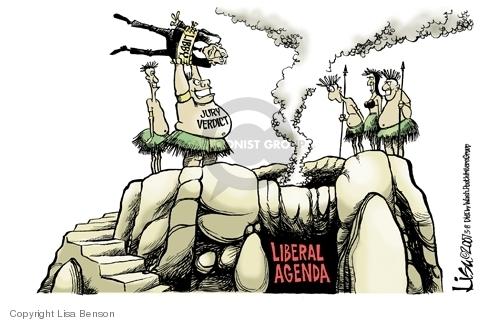 Lisa Benson  Lisa Benson's Editorial Cartoons 2007-03-08 conservatism