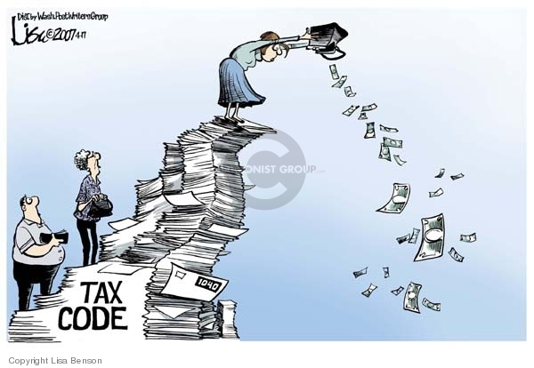 Tax code.  1040.