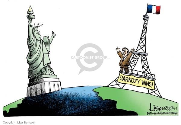 Lisa Benson  Lisa Benson's Editorial Cartoons 2007-05-09 liberty