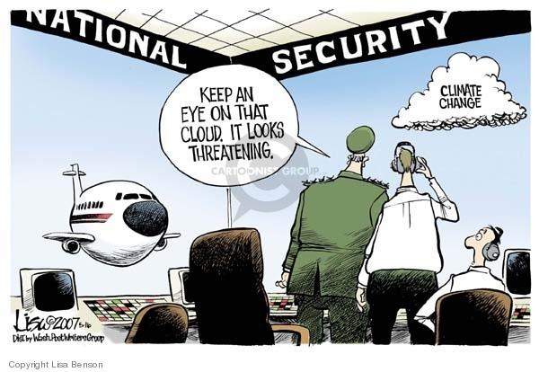 Cartoonist Lisa Benson  Lisa Benson's Editorial Cartoons 2007-05-16 security