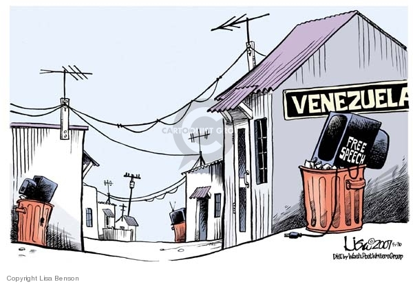 Lisa Benson  Lisa Benson's Editorial Cartoons 2007-05-30 civil liberty