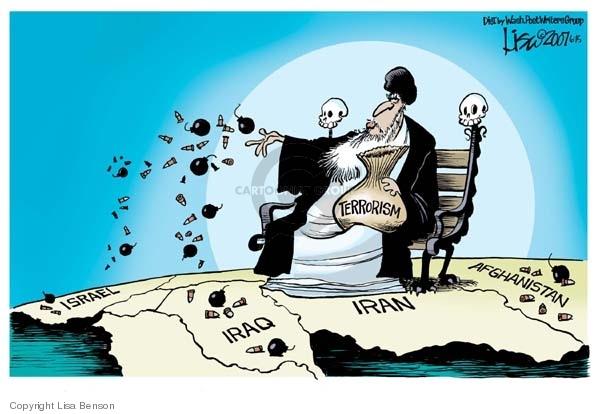 Israel.  Iraq.  Iran.  Afghanistan.  Terrorism.