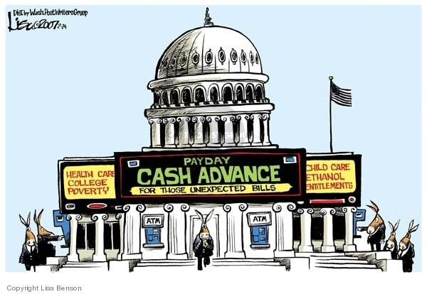 Cartoonist Lisa Benson  Lisa Benson's Editorial Cartoons 2007-07-24 congress health care