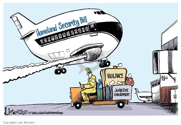 Lisa Benson  Lisa Benson's Editorial Cartoons 2007-07-25 immunity