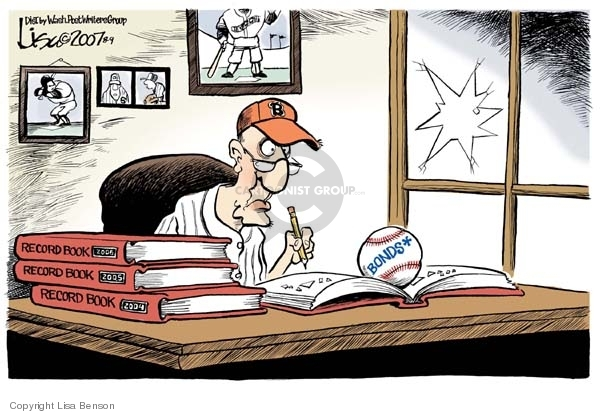 Lisa Benson  Lisa Benson's Editorial Cartoons 2007-08-09 professional sport