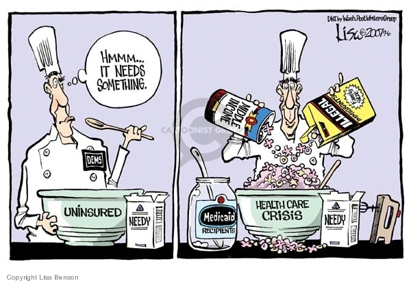Mike Luckovich cartoon: Medicare and Medicaid | OregonLive.com