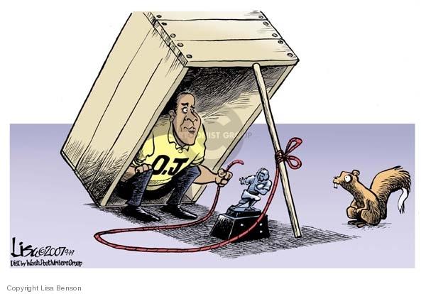 Lisa Benson  Lisa Benson's Editorial Cartoons 2007-09-19 sport