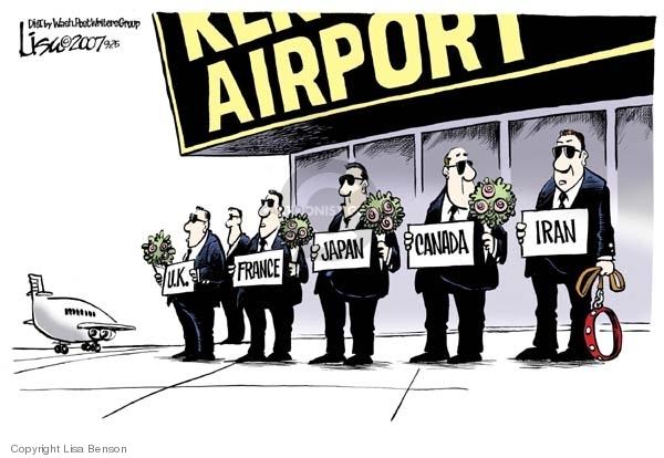 Lisa Benson  Lisa Benson's Editorial Cartoons 2007-09-25 Mahmoud Ahmadinejad