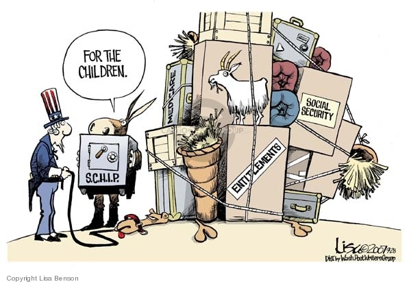 Lisa Benson  Lisa Benson's Editorial Cartoons 2007-09-28 federal budget