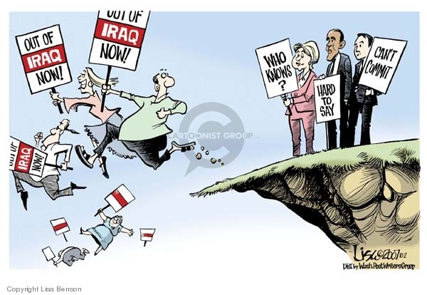 Cartoonist Lisa Benson  Lisa Benson's Editorial Cartoons 2007-10-02 senator