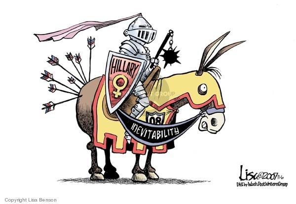 Cartoonist Lisa Benson  Lisa Benson's Editorial Cartoons 2007-11-06 senator