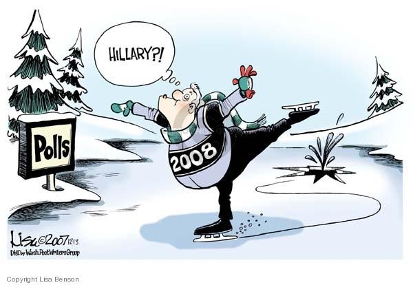 Polls.  Hillary?!  2008.
