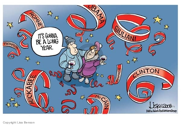 Lisa Benson  Lisa Benson's Editorial Cartoons 2008-01-01 Rudy Giuliani