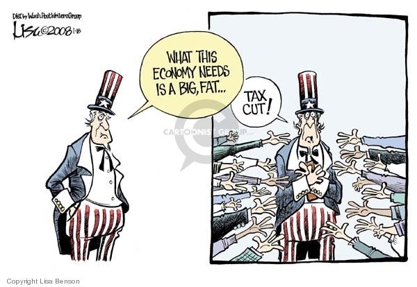 Cartoonist Lisa Benson  Lisa Benson's Editorial Cartoons 2008-01-18 big