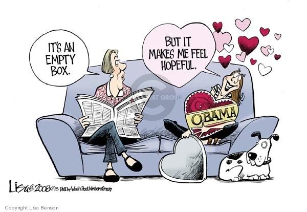 Lisa Benson  Lisa Benson's Editorial Cartoons 2008-02-13 valentine