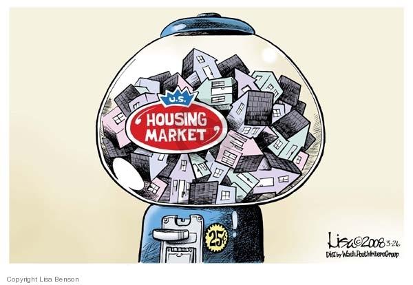 Lisa Benson  Lisa Benson's Editorial Cartoons 2008-03-26 mortgage