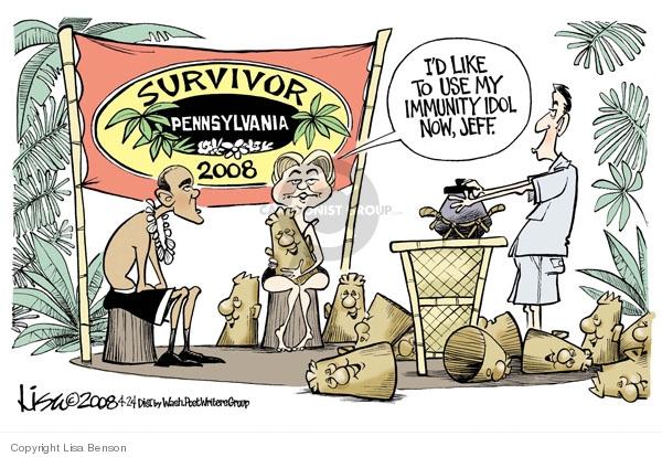 Lisa Benson  Lisa Benson's Editorial Cartoons 2008-04-24 immunity