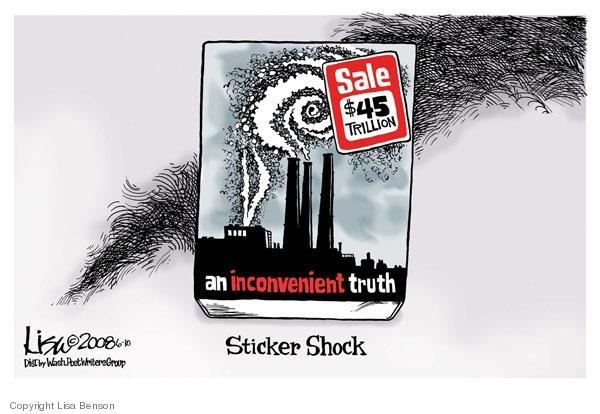Cartoonist Lisa Benson  Lisa Benson's Editorial Cartoons 2008-06-10 truth