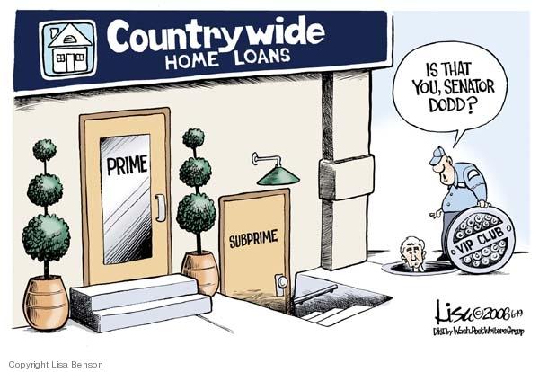 Lisa Benson  Lisa Benson's Editorial Cartoons 2008-06-19 mortgage