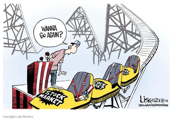Lisa Benson  Lisa Benson's Editorial Cartoons 2008-07-18 stock market
