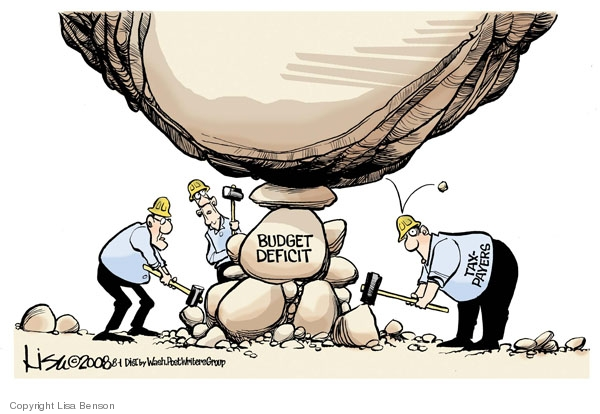 Lisa Benson  Lisa Benson's Editorial Cartoons 2008-08-01 federal budget