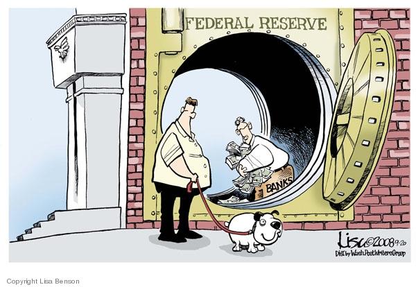 Lisa Benson  Lisa Benson's Editorial Cartoons 2008-09-20 stock market