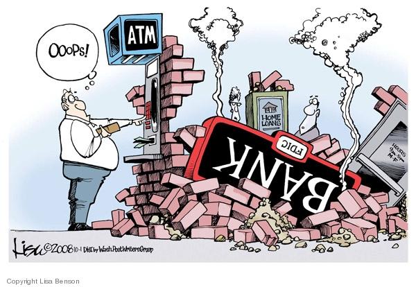 Lisa Benson  Lisa Benson's Editorial Cartoons 2008-10-01 mortgage